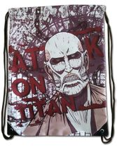 Attack On Titan - Colossal Titan Red Drawstring Bag Pre-Order