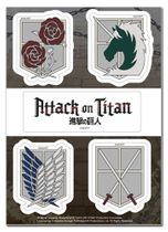 Attack On Titan - Emblems Sticker Set Pre-Order