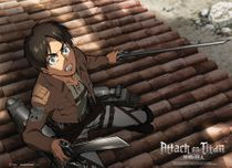 Attack On Titan - Eren Fabric Poster Pre-Order