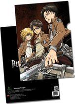 Attack On Titan - Eren, Levi & Armin File Folder (5 Pcs/Pack) RETIRED