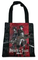 Attack On Titan - Eren & Levi Tote Bag Pre-Order