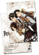 Attack On Titan - Eren, Levi, Zoe & Erwin File Fodler (5 Pcs/Pack) Pre-Order