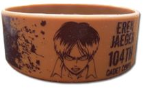 Attack On Titan - Eren Pvc Wristband Pre-Order
