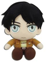 Attack On Titan - Eren Sitting Pose Plush Pre-Order