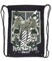 Attack On Titan - - Even & Levi Drawstring Bag Pre-Order
