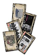 Attack On Titan - Eye Catch Artwork Group Playing Cards Pre-Order