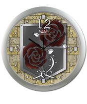 Attack On Titan - Garrison Regiment Wall Clock Pre-Order