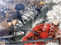 Attack On Titan - Grou2 High End Wall Scroll Pre-Order