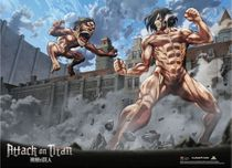 Attack On Titan - Group 1 Special Edition Wallscroll Pre-Order