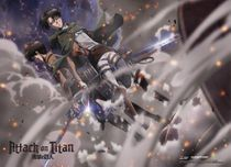 Attack On Titan - Group 2 Special Edition Wallscroll Pre-Order