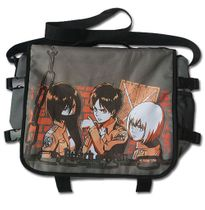 Attack On Titan - Group Orange Messenger Bag Pre-Order