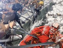 Attack On Titan - Group Wall Scroll Pre-Order