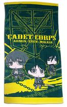Attack On Titan - Group With Titan Sd Towel Pre-Order