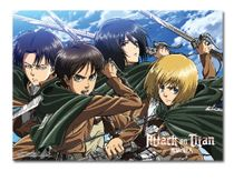Attack On Titan - Key Art 16 Wallscroll Pre-Order