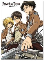 Attack On Titan - Key Art 18 Fabric Poster Pre-Order