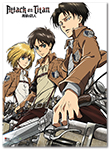 Attack On Titan - Key Art 18' Wallscroll Pre-Order