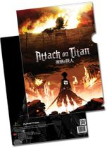 Attack On Titan - Key Art File Folder (5 Pcs/Pack) Pre-Order