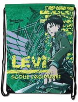 Attack On Titan - Levi Green Drawstring Bag Pre-Order