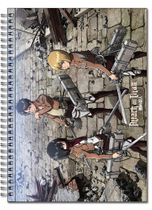 Attack On Titan - Main 3 Spiral Notebook Pre-Order
