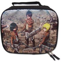 Attack On Titan - Main Three Lunch Bag Back Order
