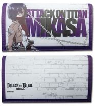 Attack On Titan - Mikasa Girl Wallet TBD