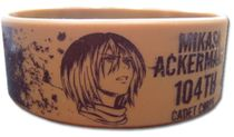 Attack On Titan - Mikasa Pvc Wristband Pre-Order