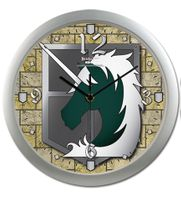 Attack On Titan - Military Police Wall Clock Pre-Order
