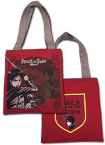 Attack On Titan - Red Eren Tote Bag Pre-Order
