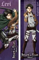 Attack On Titan S2 - Levi Body Pillow Pre-Order