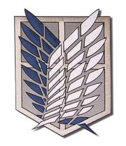 Attack On Titan - Scout Regiment Large Patch Pre-Order
