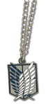 Attack On Titan - Scouting Legion Emblem Necklace Pre-Order
