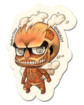 Attack On Titan - Sd 50M Titan Sticker Pre-Order