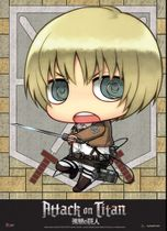 Attack On Titan - Sd Armin Wallscroll Pre-Order