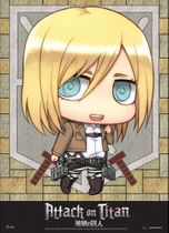 Attack On Titan - Sd Christa Wallscroll Pre-Order