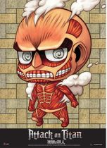 Attack On Titan - Sd Collosal Titan Wallscroll Pre-Order
