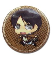 Attack On Titan - Sd Efren Button RETIRED