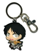 Attack On Titan - Sd Eren Pvc Keychain Back Order