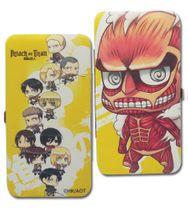 Attack On Titan - Sd Group Hinge Wallet Pre-Order