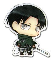 Attack On Titan - Sd Levi Pin Pre-Order