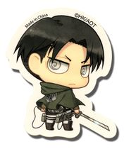 Attack On Titan - Sd Levi Sticker Pre-Order