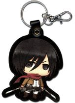 Attack On Titan - Sd Mikasa Pu Keychain Pre-Order