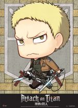 Attack On Titan - Sd Reiner Wallscroll Pre-Order