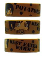 Attack On Titan Sd Sasha Potato Pvc Wristband Pre-Order