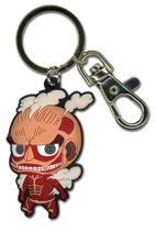Attack On Titan - Sd Titan Pvc Keychain Back Order