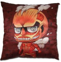 Attack On Titan - Sd Titan Square Pillow Pre-Order