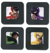 Attack On Titan - Set 2 Coaster Pre-Order