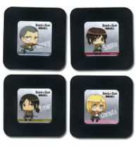 Attack On Titan - Set 6 Coaster Pre-Order