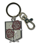 Attack On Titan - Stationary Guard Emblem Keychain Pre-Order