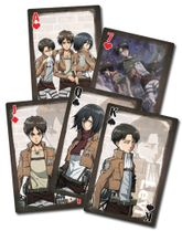 Attack On Titan - Style 2 Playing Cards IN STOCK