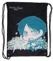 Attack On Titan - Titan & Even Drawstring Bag Pre-Order